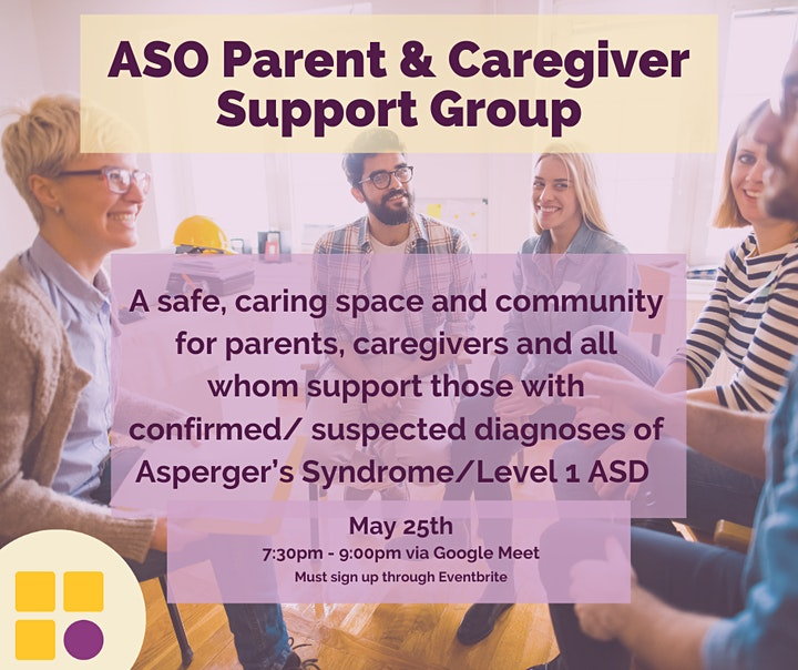 ASO Parent & Caregiver Support Group May 2021 image