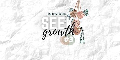 Seek Growth #3 - VSM tickets