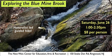 Exploring the Blue Mine Brook! tickets