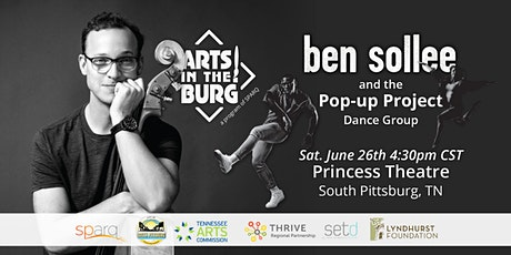 Ben Sollee performing with The Pop-up Project at Arts in the Burg tickets
