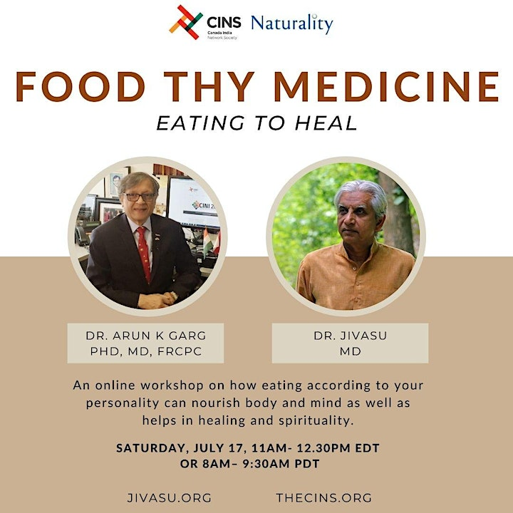 Food Thy Medicine - Eating to Heal image