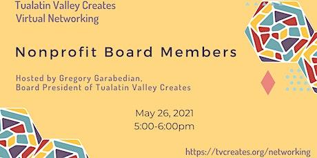 Virtual Networking: Nonprofit Board Members tickets