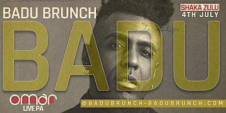 BADU Brunch (LIVE PA from OMAR)(Neo Soul + RnB Lounge) tickets