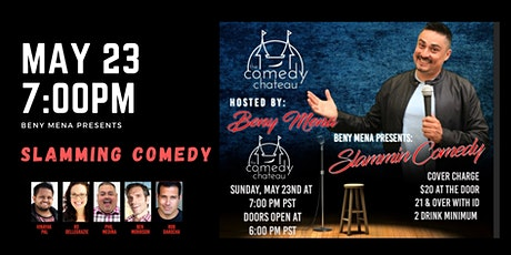 Beny Mena presents: Slammin' Comedy tickets