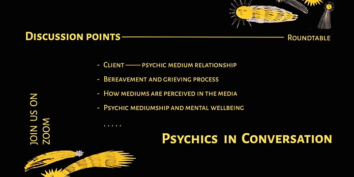 Psychics in Conversation: A roundtable discussion image