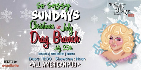 Drag Brunch by The Vanity House Christmas in July tickets