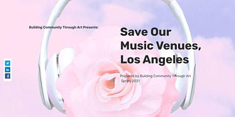Save Our Venues, Los Angeles tickets