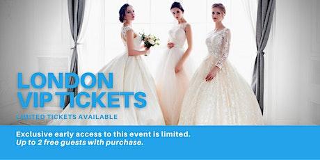 London Pop Up Wedding Dress Sale VIP Early Access tickets