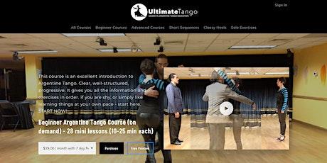 Beginner Argentine Tango - on-demand tickets
