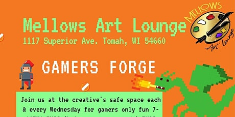 Wednesday Gamers Forge tickets