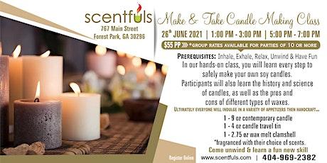 Make & Take Candle Making Class entradas