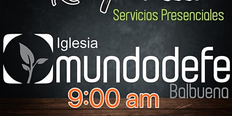 1er Servicio MDF  16 Mayo - 9am tickets