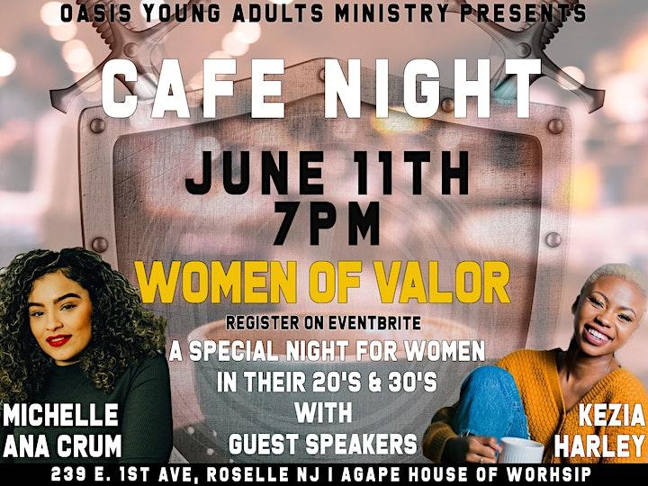 Women of Valor - Cafe Night image