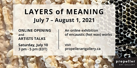 Layers of Meaning: Zoom Opening and Artists Talks tickets