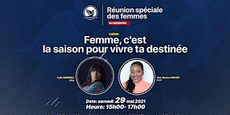 RÉUNION DES FEMMES billets