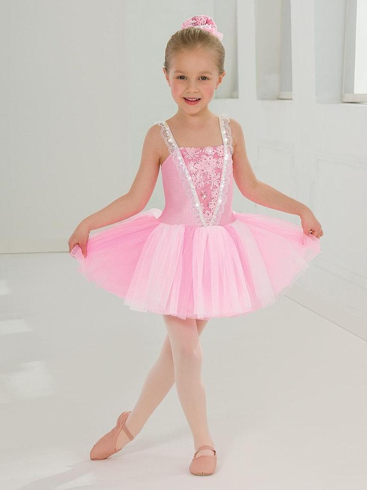FREE Sequin Dress(Value$48.95 )10 Wks Class Sleeping Beauty Perform $188.00 image