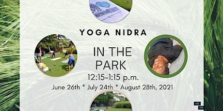 Yoga Nidra in the Park tickets