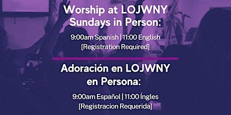 Sunday Service | Servicios Dominicales tickets