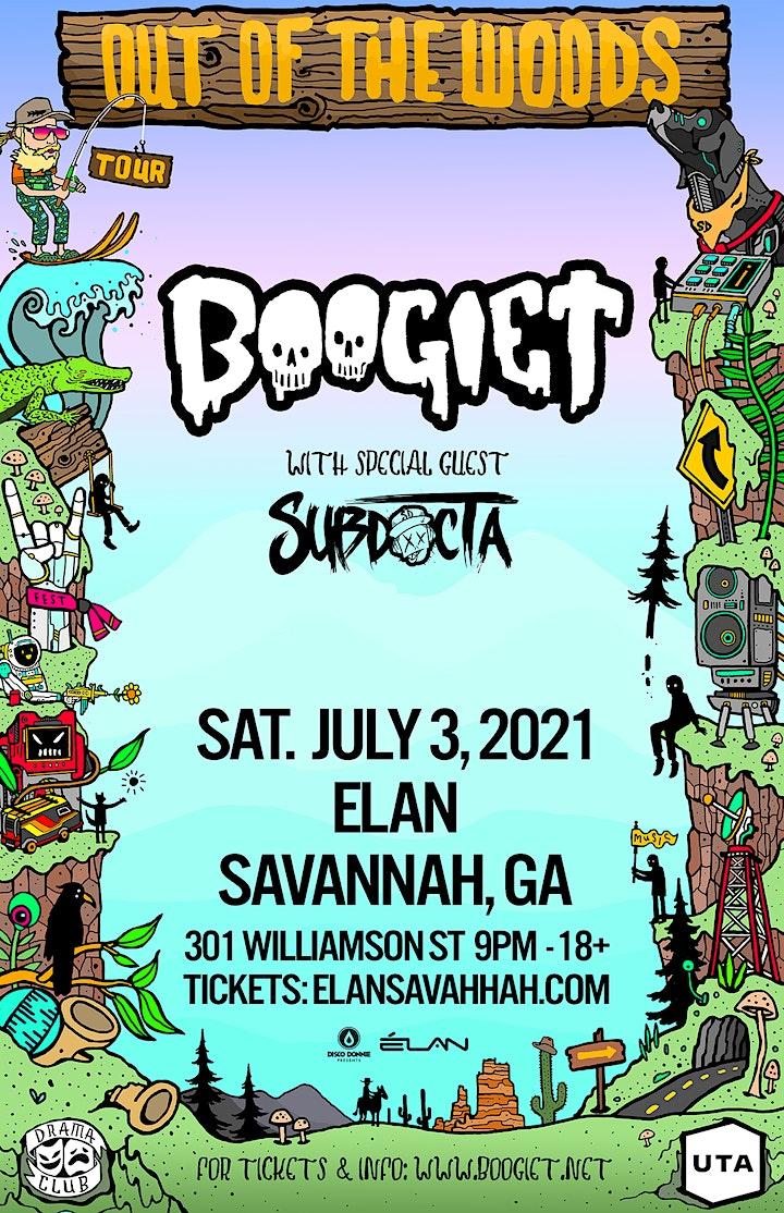 Boogie T: Savannah Out Of The Woods Tour  at Elan Savannah (Sat, Jul 3rd) image