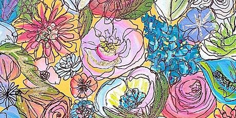 Flower me happy  Create | Paint | Online tickets