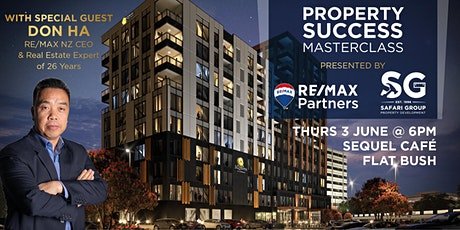 Property Success Masterclass with Don Ha & RE/MAX Partners tickets