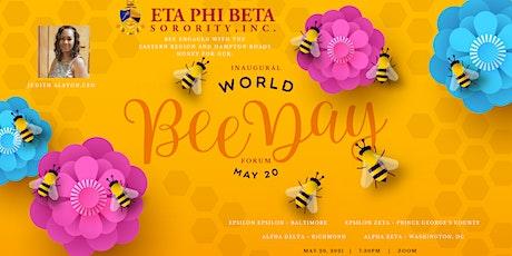 Eta  Phi Beta Sorority, Inc.'s World Bee Day 2021 Forum - Eastern Region Tickets