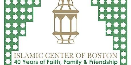 ICB Friday Prayer for June 4 tickets