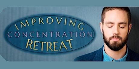 Improving Concentration RETREAT: Special Event Live Stream tickets