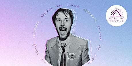 Morning People feat. Stefaan Van Leuven (SOULWAX) tickets