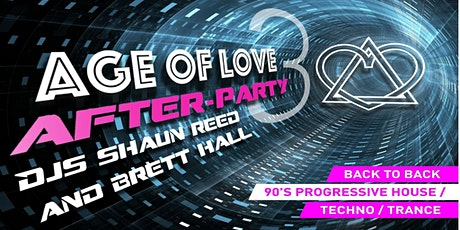 Age Of Love - The Party After 3 tickets