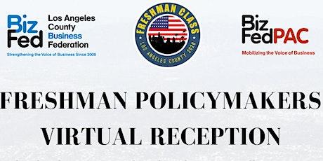 2021 BizFed Freshman Policymaker Virtual Reception tickets