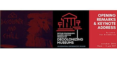 OPENING & KEYNOTE | with Laura Van Broekhoven (Pitt Rivers Museum) tickets