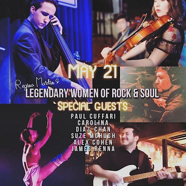 Legendary Women of Rock & Soul: Regina Martin  Live @thebitterend Tables image