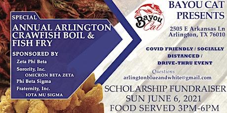 Annual Arlington Crawfish Boil & Fish Fry - SCHOLA tickets