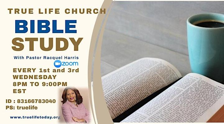 Bible Study - Online image