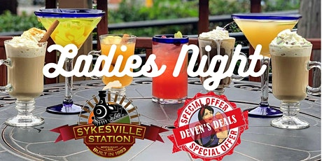 Ladies Night at Sykesville Station with Deven's Deals- Thurs 6/17   7-11pm tickets