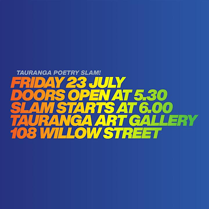 Wham Bam Tauranga Poetry Slam image