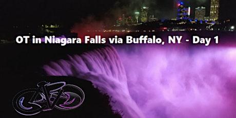 OT in Niagara Falls - Day 1 - Overnight Cycling Tour to Niagara Falls, ONT tickets