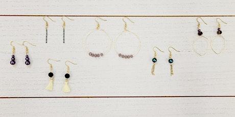 Simple Bead Earrings - Market City tickets