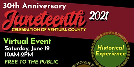 30th Anniversary Juneteenth Celebration presented JCVC tickets