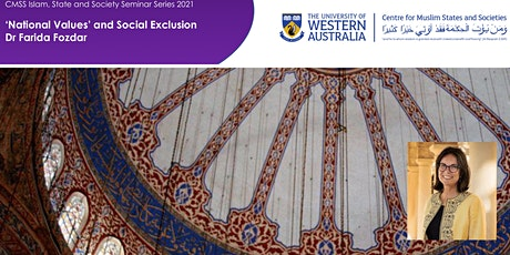 CMSS Seminar: 'National values' and social exclusion by Dr Farida Fozdar tickets