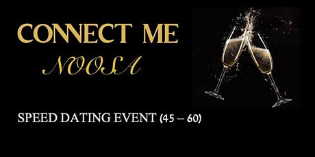 Speed Dating For 45-60 Year Olds - Sunshine Coast tickets