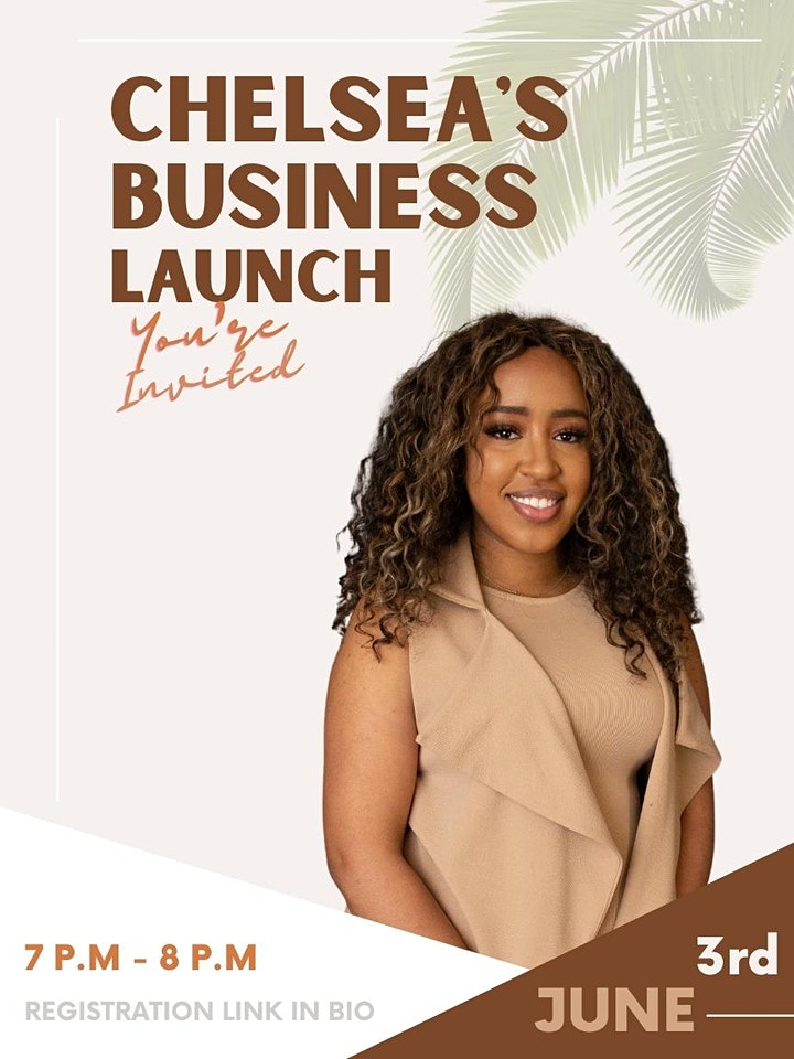 Chelsea's Business Launch image