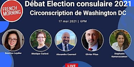 Débat élection consulaire de Washington DC tickets
