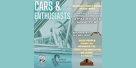 Cars-Music-Wine tickets