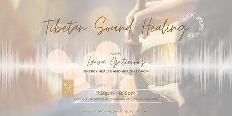 Tibetan Sound Healing tickets