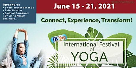International Festival Of Yoga tickets