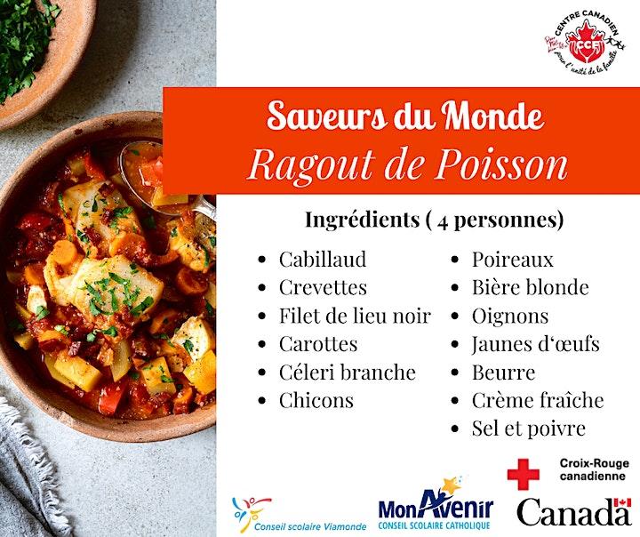 Image de Atelier de cuisine ''Saveurs du Monde ''  - C'EST GRATUIT !