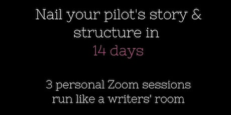 Nail your pilot's  story & structure in 14 days tickets