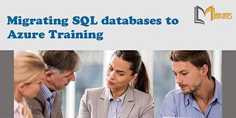 Migrating SQL databases to Azure Virtual Training in Guadalajara tickets